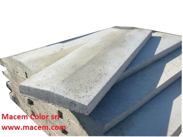 Copertine in cemento bricoman cemento armato precompresso - Copertine per muretti esterno in cemento prezzi ...